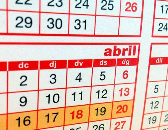 Calendari de festes laborals a Catalunya per a l'any 2019