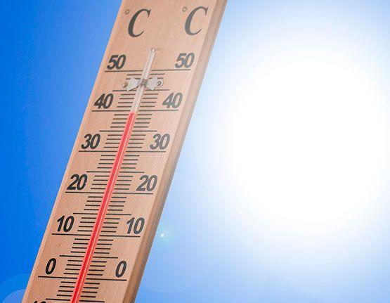 La calor durant la jornada de treball a l'estiu